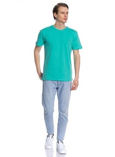Slazenger Sander Erkek T-Shirt Yeşil